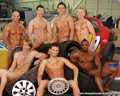 College Muscle Men Naked